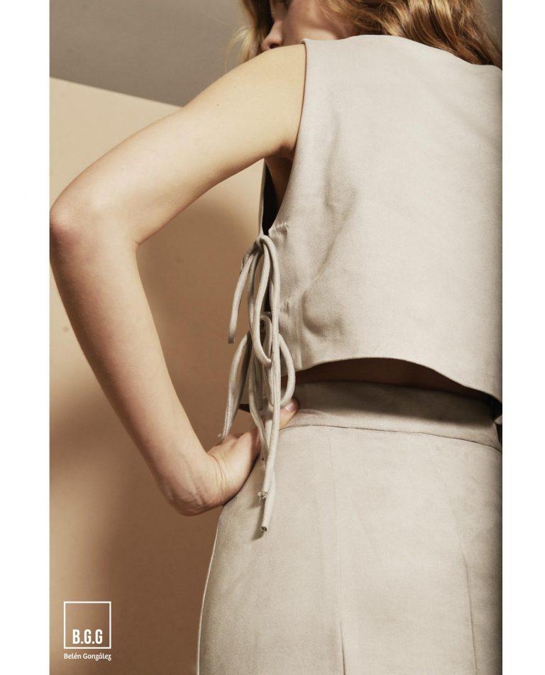 conjunto falda y crop top