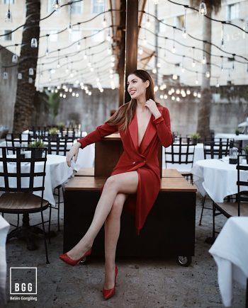 Vestido de Fiesta Smoking BGG Couture