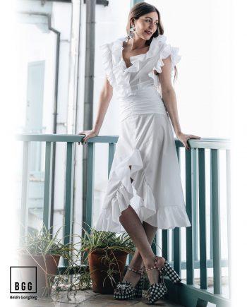 Vestido de Feria blanco